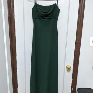 Michaelangelo's Spaghetti Strap Formal Gown